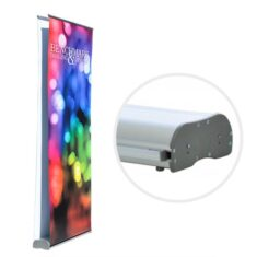 Double Sided Banner Stand for Custom Graphics