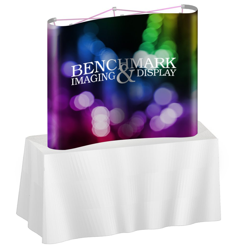 6ft Magnetic Pop Up TableTop Display   Display With All 4 Graphic Part 66