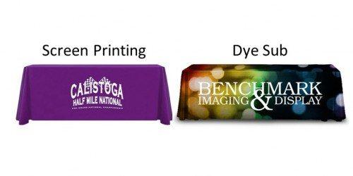 Table Drapes Printing Techniques Comparison