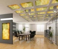 Autumn Leaves Light Fixture