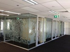 Corporate Interior Window Film