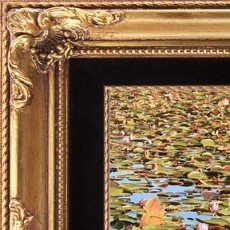 endless-lily-pond-with-elegant-frame-carol-groenen
