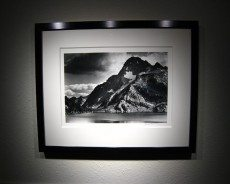 Framed Print with Conventional Framing