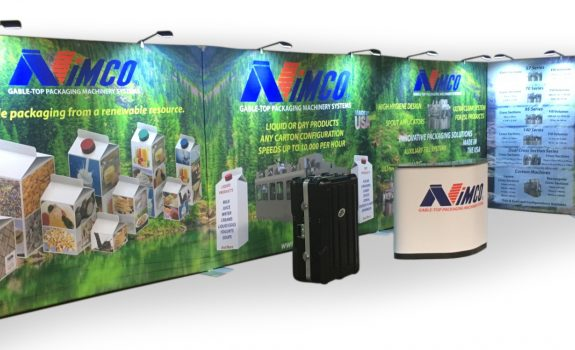 Nimco's new 40 foot booth from Benchmark packs them in
