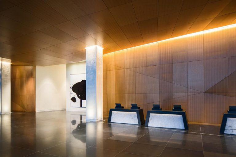 lobby of Marriott backlit images