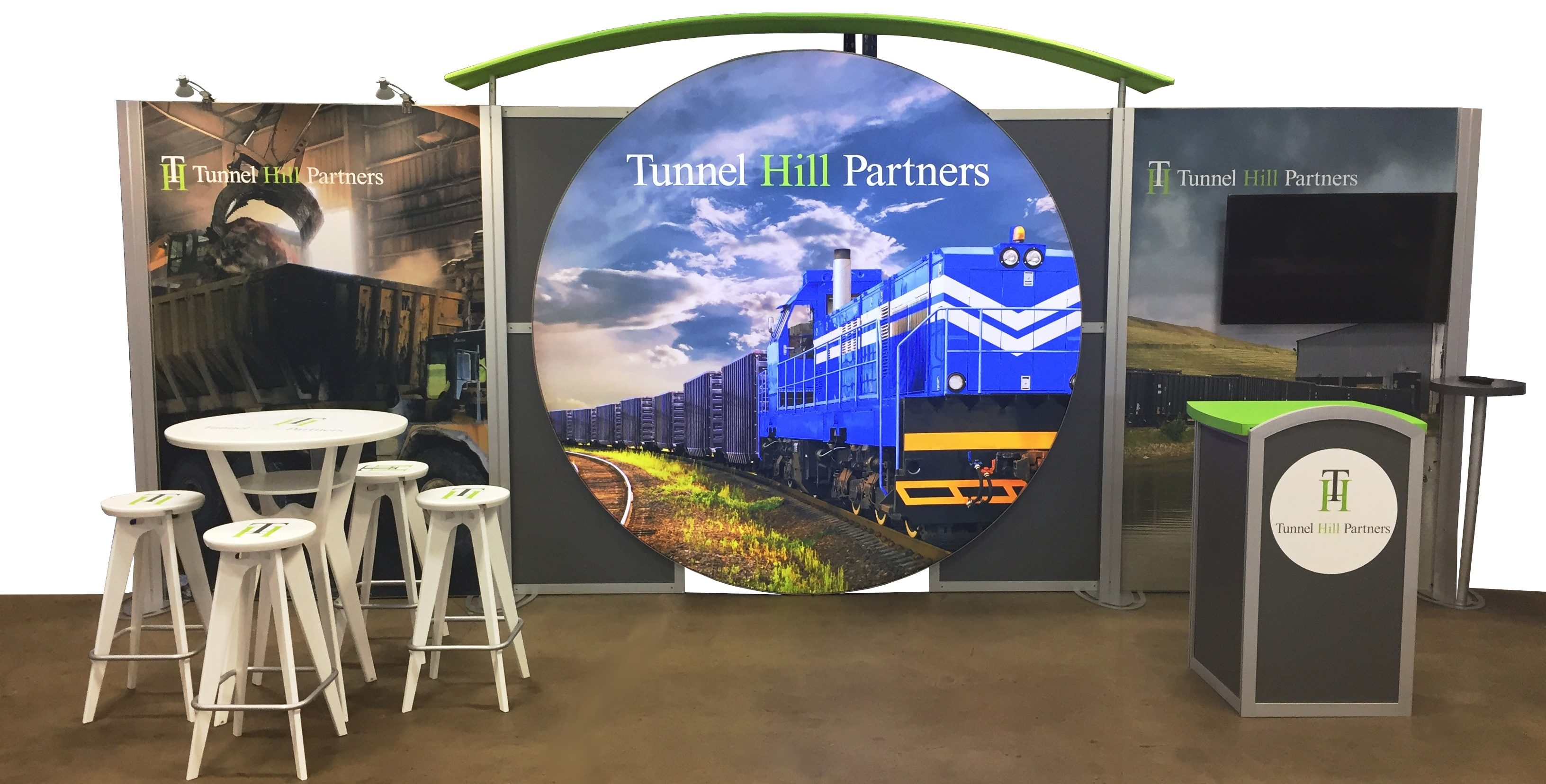 10 x 20 custom booth for trade show