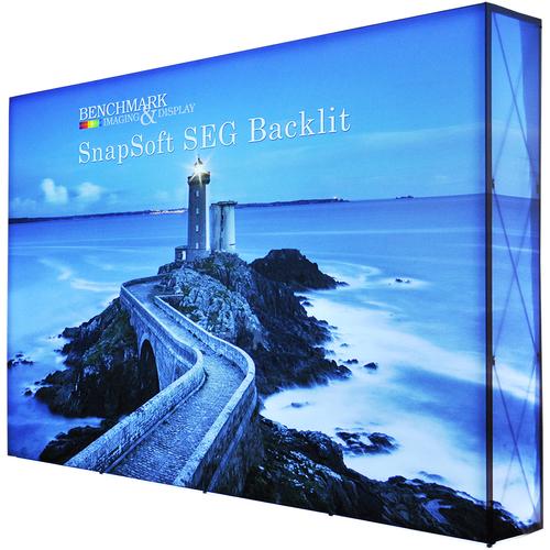 10ft x 7.5ft Backlit Trade Show Display